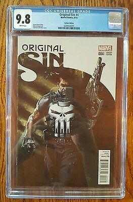 ORIGINAL SIN 4  CGC 9.8  :1:50 Dell 'Otto Variant : ONLY 9.8 W/INNER WELL CASE