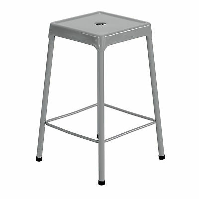 Steel Counter Stool - Silver  1 ea