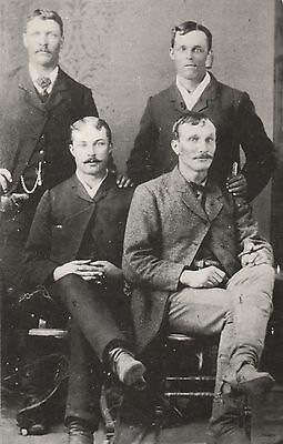 """LAM (Q) Unknown Location - """"Virgil Earp and Friends from Original Tintype"""""""