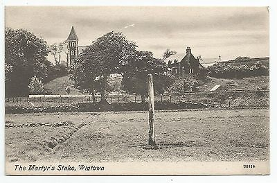 POSTCARD-SCOTLAND-WIGTOWN-PTD. The Martyr's Stake.
