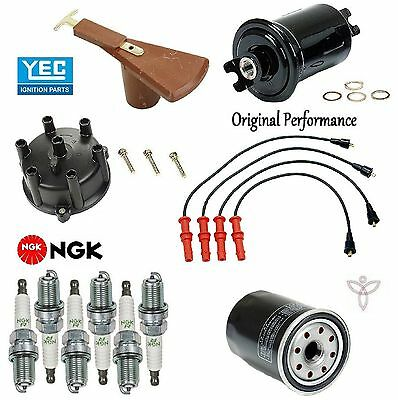 Tune Up Kit Filters Cap Rotor Plugs Wire for Toyota Land Cruiser 4.0 1991-1992
