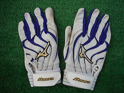 Chicago Cubs Willson Contreras Game Used Autographed Batting Gloves