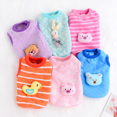 Teacup Dog Clothes Cat Clothing Puppy Coat chihuahua yorkie maltese XXXS/XXS/XS