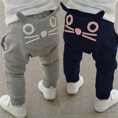 Animal Cartoon Baby PP Pants Boy Girl Infant Tights Trousers Clothes