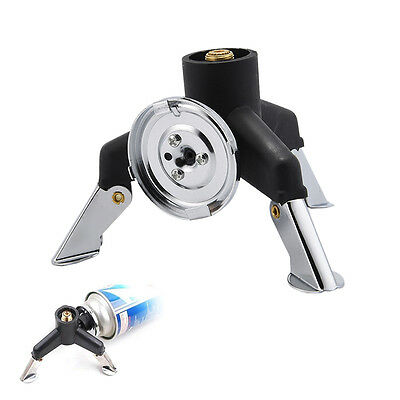 Triangle Three-Leg Transfer Changer Adapter for Stove Gas Tank Nozzle Bottle