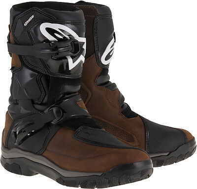 Alpinestars '17  Belize Drystar touring offroad boots oiled leather Size US 12