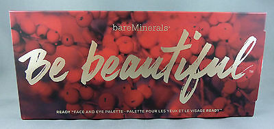 Bare Minerals BE BEAUTIFUL Ready Face & Eye Palette 10 Blush Colour Escentuals