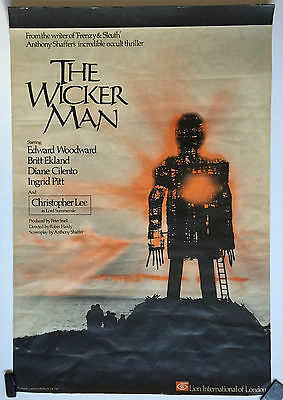 The Wicker Man UK British One Sheet Original poster rolled 1973