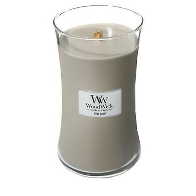 WoodWick Large Jar Scented Candle - Fireside
