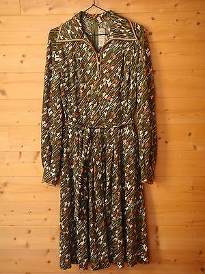 70s VINTAGE TRICOSA DRESS / VESTIDO ESTAMPADO PUNTO