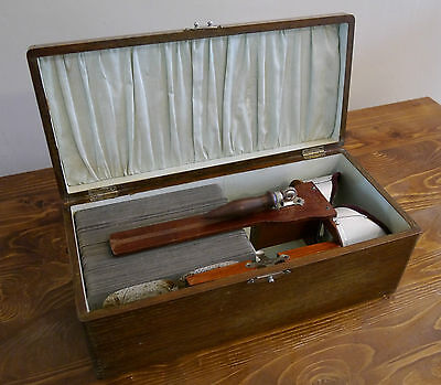 Vintage Stereoview Collection, 95 Excelsior Stereoscopic Tours, Wooden Box