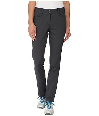 Adidas Women's Golf Advance Fall Weight Pants Gray 4 Small