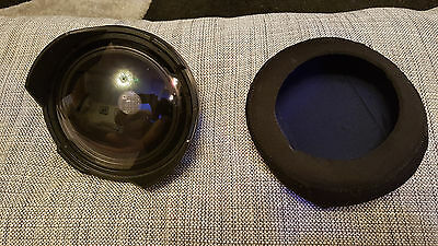 Inon Wide angel lens and dome with neoprene Cover