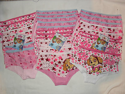 new wholesale 28 pairs paw patrol shorties/knickers.2-3,4-5,6-8yrs.only 55p each