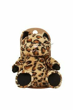 BNWT Topshop Soft Plush Leopard/Cat Microwave Hottie (In Original Box) SOLD OUT