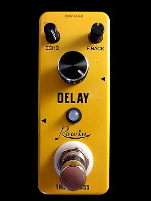 Rowin LEF-314 Mini Analog Delay Guitar Effect Pedal with True By-Pass