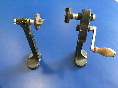 Rewind / Winding Arms For 16mm Cine Film Viewer / Editor