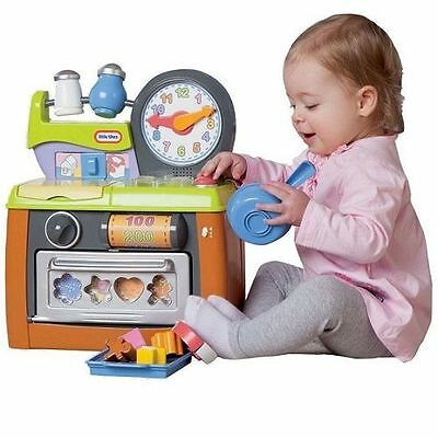 Little Tikes Lil' Cooks Little Kitchen Fun Sounds and Shapes Puzzle Play Toy