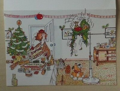 1989  Scarborough -   Rare Vip Christmas Card Issued By The Football Club