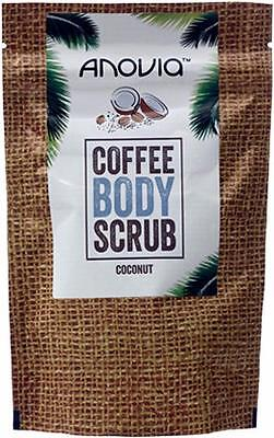 ** Anovia Coffee Body Scrub With Coconut 150G New ** Exfoliator Vitamins