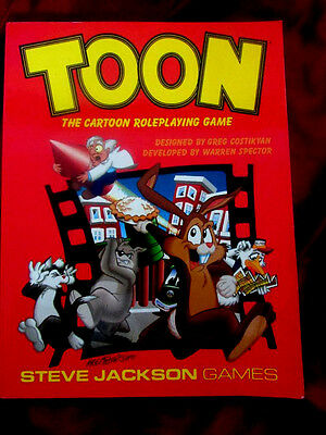 TOON - THE CARTOON ROLEPLAYING GAME. New Edition Core Rulebook RPG OOP