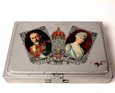 1935 George V Silver Jubilee Paint Set Tin Reeves Commemorative