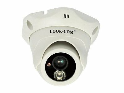 LOOK-COM LC-1237DR20 Dome Security Surveillance Cameras White