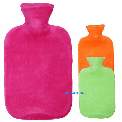 Germany Made Fashy 2.0L Hot Water Bottle With Color Velvet Cover 6712