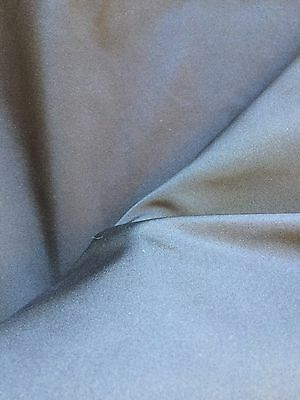 Vintage 1950's Fabric Pure silk Old Stock Dark Blue 2 yard Never used