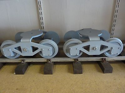 "Pair of 5"" Gauge Compensating Wagon Bogies for Live Steam & Diesel"