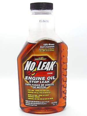 No Leak Engine Oil Stops Fluid Leaks Restores Seals 473ml