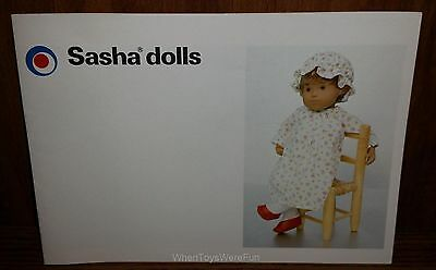 1982 Sasha Dolls Catalog #23, Issue 1