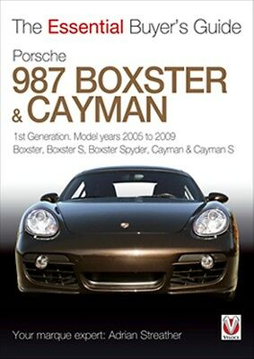 Porsche 987 Boxster & Cayman The Essential Buyers Guide book paper 2005 to 2009