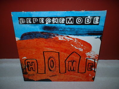 "Depeche Mode Home Rare Uk Dj 12"" Vinyl Record Remix Maxi Single 1997 England"