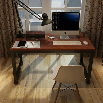 Wooden&Metal Computer PC Office Desk/Study Table Office Chair Set Dining chairs
