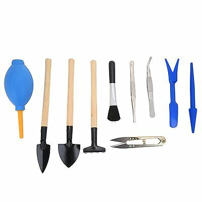 10pcs Gardening Tool Set Potted Artificial Kids Mini Garden Plant Hand Tools Set