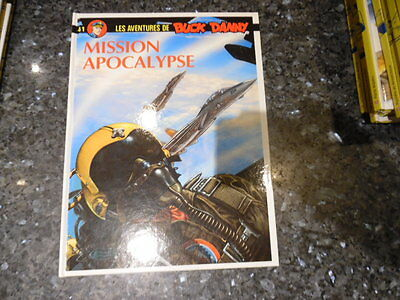 belle reedition  buck danny mission apocalypse la collection