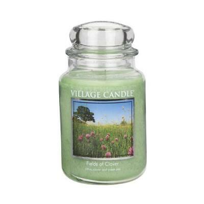 Village Candle Large Jar Candle - Fields Of Clover