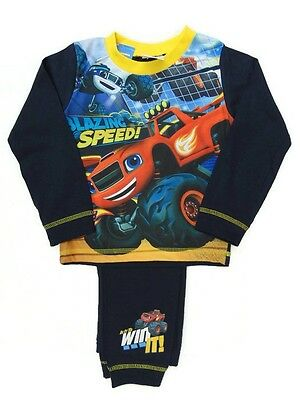 Boys Blaze and the Monster Machines Toddler Pyjamas Official Merchandise 18-24