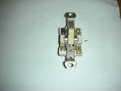 Bryant antique heavy Porceiln One Pole switch