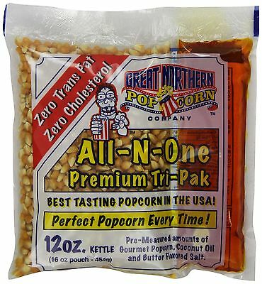 Great Northern Popcorn 12-Ounce Portion Packs (Pack of 24)