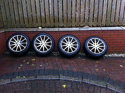 4 Audi A4 Alloy Wheels and Winter Tyres