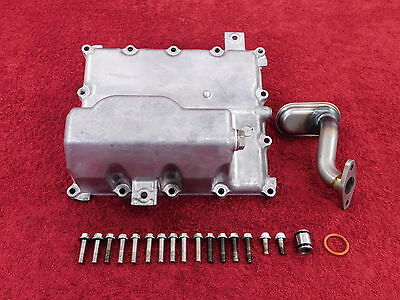 COMPLETE OIL PAN w/pick up tube 07-08 GSXR1000 GSXR 1000 OEM engine sump *NICE!