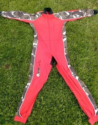 Red Camo Freefly FF skydiving suit Skydive Jumpsuit