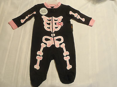 Halloween Girls Newborn 0-3 Month Choice Sleepwear Pajama or Doll Clothes NWT