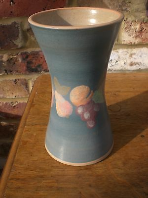 Rare Jersey pottery vase - great condition.