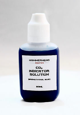 CO2 indicator reagent - bromothymol blue 30ml bottle