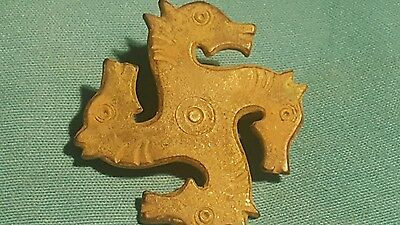 Beautiful Roman Bronze Horse Fibula Very Rare