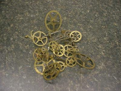 SethThomas Gilbert Clock maker Main Secondary Timing Gears Brass SteamPunk E470