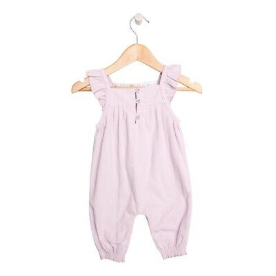 Romper Overall for Toddler or Baby Lilac Bodysuit Onesie by Plum Size 000 New